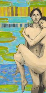 Sestri, jajčna tempera na platno, 170x150,2010.1