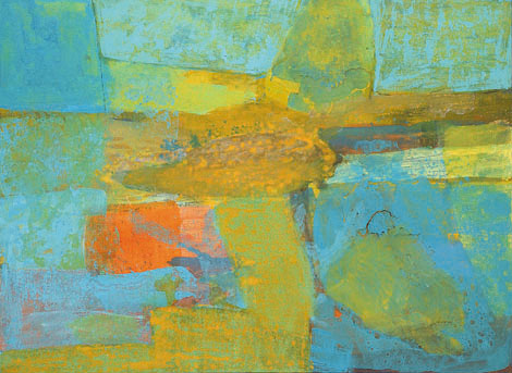 Fissure, egg tempera on canvas, 125x170 cm, 2001.
