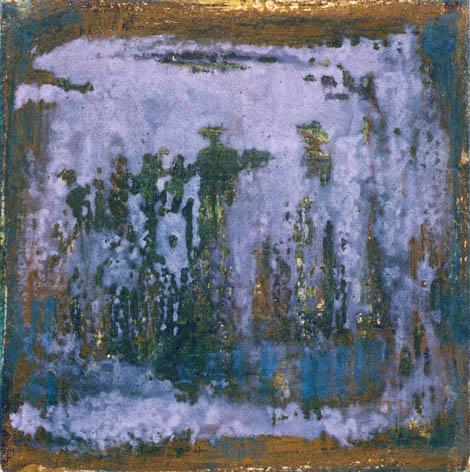 Voda, jajčna tempera na platno, 30x30 cm, 2003.