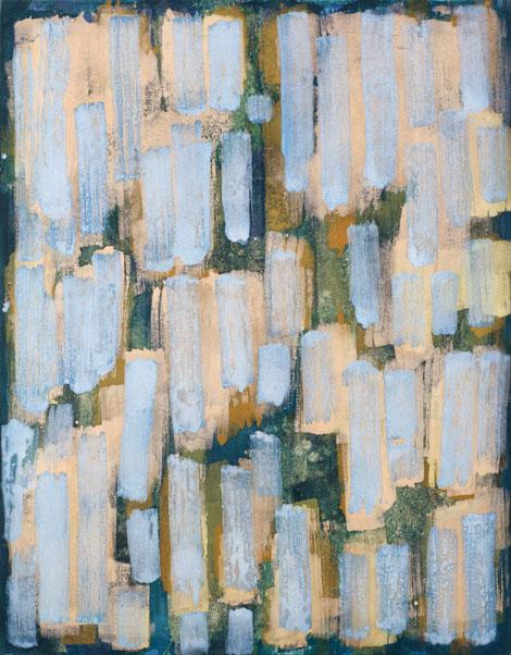 Brez naslova, jajčna tempera na platno, 120x95 cm, 2004.